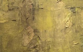 Abschied vom Sommer (Detail), Mischtechnik auf Leinwand,100 x 80 cm, 2018