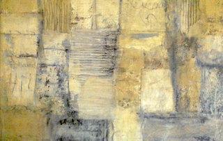 Remnant I, Mischtechnik auf Holz, 50 x 70 cm, 2018