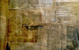 Remnant II, Mischtechnik auf Holz, 50 x 70 cm, 2018