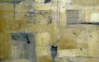 Remnant III, Mischtechnik auf Holz, 90 x 65 cm, 2018