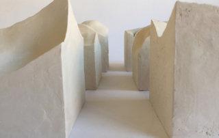 Inverse, 1997, Keramik, Installation