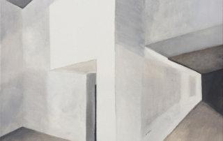 Shapes no. 01, 2019, Öl auf Leinen, 80 x 60 cm