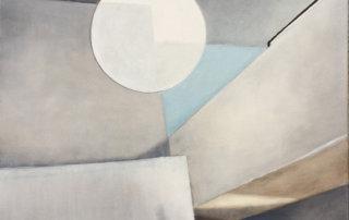 Shapes no. 02, 2019, Öl auf Leinen, 80 x 60 cm