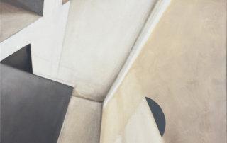 Shapes no. 03, 2019, Öl auf Leinen, 80 x 60 cm