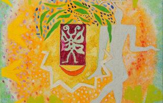 Antje Fels, Schmetterlinge, Triptychon, 2003